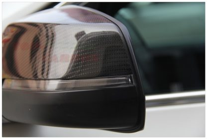 Replacement Mirror Cover Carbon Fiber OEM Style BMW 5 Series F10 2014 UP (Example Already Installed)