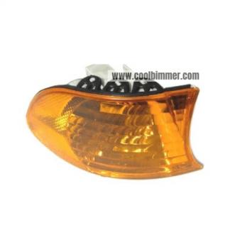 BMW E38 Corner Light Turn Signal Indicator Orange Lens Side Right 98-01