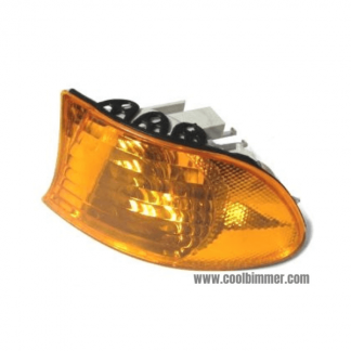 BMW E38 Corner Light Turn Signal Orange Lens Side Left 98-01