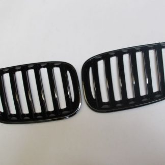Grill BMW X5 E53 (04-06) Facelift (LCI) Glossy Black Single Slats