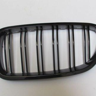 Grill BMW F10 F11 Glossy Black Double Slats