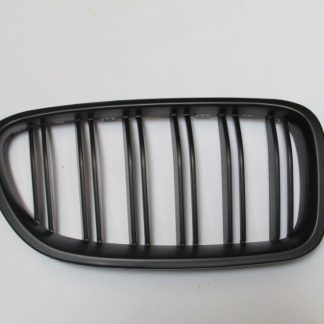 Grill BMW F10 F11 Matte Black Double Slats