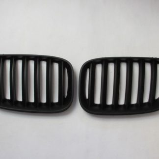 Grill BMW X5 E53 (04-06) Facelift (LCI) Matte Black Single Slats