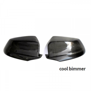 2010-2013 Carbon Fiber F10 F18 No Replacement Design Rearview Mirror Covers, Side Mirror