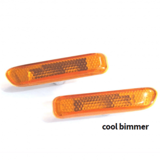 BMW 3-Series E46 1998-2001 Amber Side Marker Lights OEM