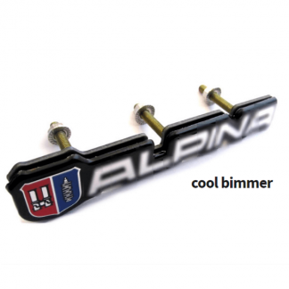 Alpina Front Grille Emblem Badge