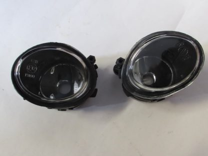 BMW E46 M3 or Mtech OEM Replacement Clear Fog Lights Without Light Bulbs - Left (pair)