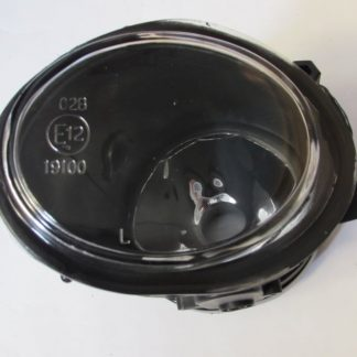 BMW E46 M3 or Mtech OEM Replacement Clear Fog Lights Without Light Bulbs - Left