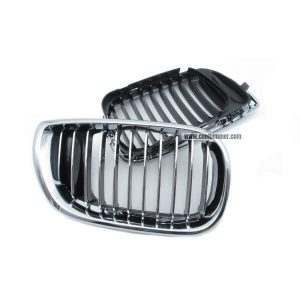 front-grille-chrome-single-slats-for-bmw-e34-facelift-2002-2005