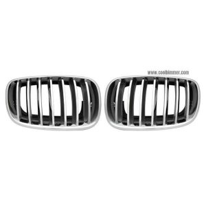 front-grille-silver-chrome-for-bmw-x5-70-x6-e71