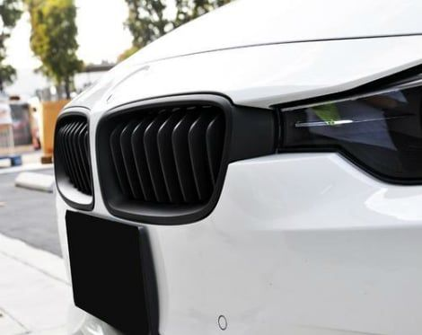 Grill Bmw F30 Sport Line Matte Black Single Slats Cool Bimmer