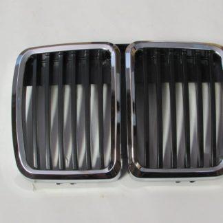Grill BMW E30 M40 (83-91) Black Chrome