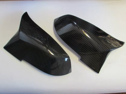 Rearview Mirror Cover BMW M Style Carbon Fiber (12-ON) 1 Set 2 Pcs