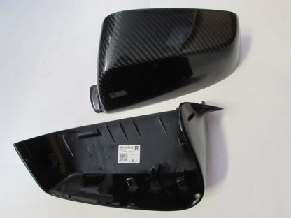 Rearview mirror cover BMW standart model (OEM) carbon fiber, the back of the rearview mirror