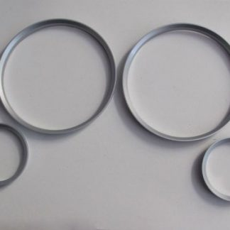 Gauge Ring E30 Satin Chrome