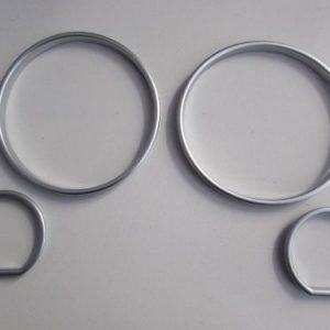 Gauge Ring E34 (88-95) Satin Chrome