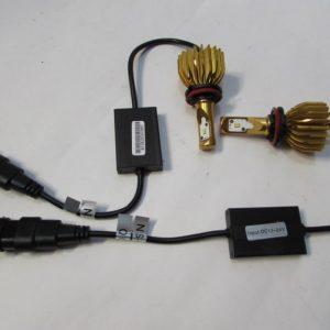 LED Foglamp Flame Yellow Model FL-H11