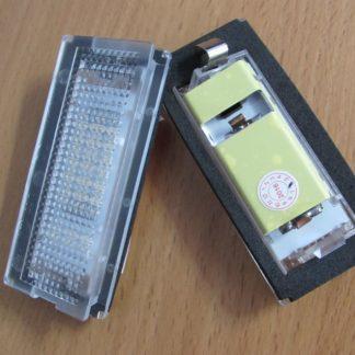 LED Number License Plate Lamps Error Free 18 LED For BMW E46 4D Sedan / E46 5D touring (98 05)