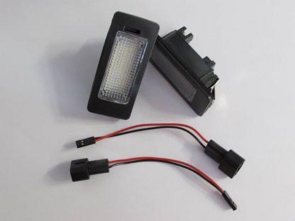 Error Free For BMW LED License Plate Lights Lamps for E39 E60 E70 E82