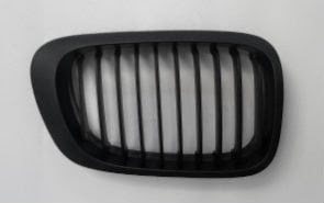 Grill BMW E46 2D Matte Black Single Slats