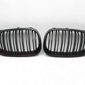 Grill BMW E60 E61 (04-09) Matte Black Double Slats