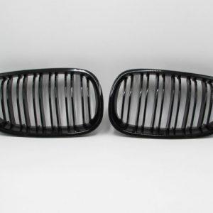 Grill BMW E60 E61 (04-09) Glossy Black Double Slats