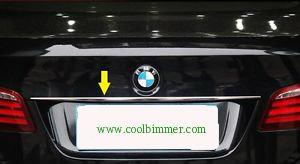 Trunk Lid Moulding BMW F10