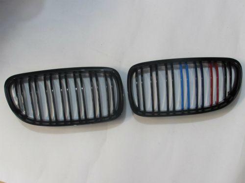 Grill BMW E90 E91 (09-11) LCI M Color Glossy Black Double Slats