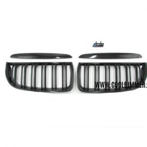 Grill BMW E90 E91 (05-08) Pre LCI Glossy Black Double Slats