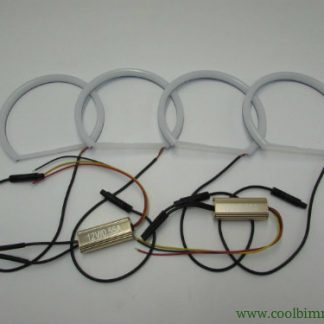 Angel Eyes Ring Cotton LED BMW E36, E38, E39, E46 Projector Model 2 Color White And Yellow Amber