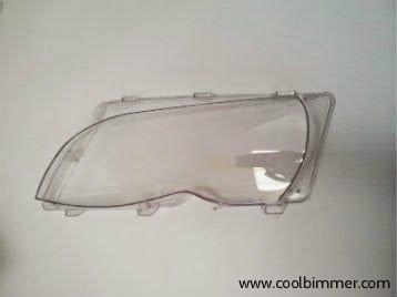Headlight Lens Cover BMW E46 (facelift) Left