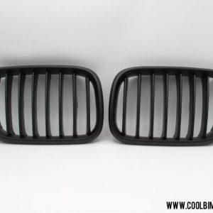 Grill BMW X5 E53 (99-03) Pre LCI Black