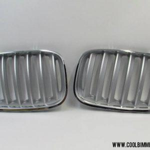 Grill BMW X5 E53 (04-06) LCI Silver Chrome