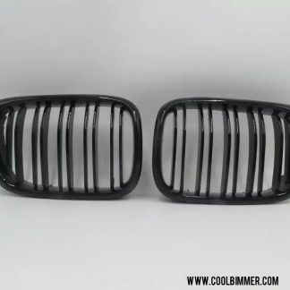 Grille BMW E39 Facelift Glossy Black Double Slats