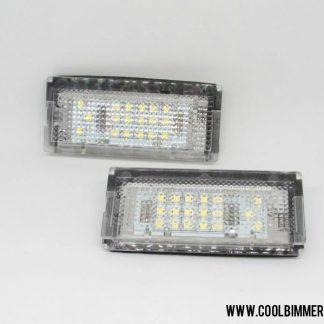 BMW E46 4D LED License Plate Light