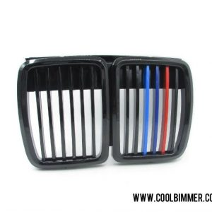 BMW E30 (82-94) Grille Glossy Black M Color