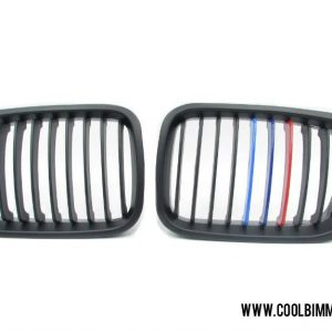 BMW E46 Pre Facelift (98-01) Grille M Color Matte Black