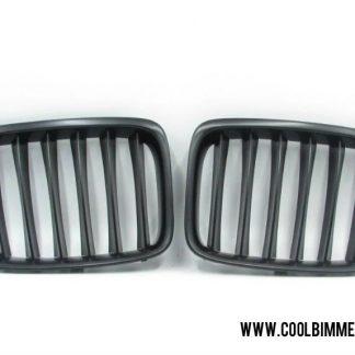 BMW X1 E84 (10-15) Grille Matte Black