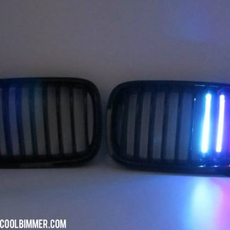Grill LED M Colour BMW F10, F18 Glossy Black