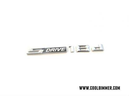BMW Sdrive 18d Emblem Chrome