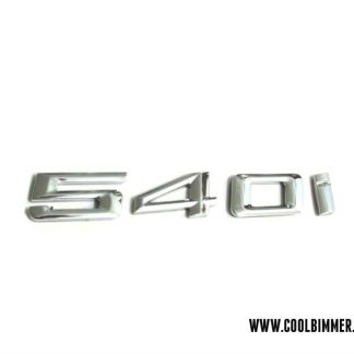 BMW Emblem 540i Chrome