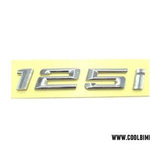BMW Emblem 125i Silver