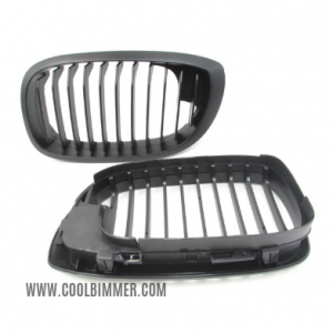 Grill BMW E46 2D (02-04) Facelift Matte Black