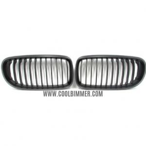 Grill BMW E90 (09-11) LCI Matte Black Single Slats