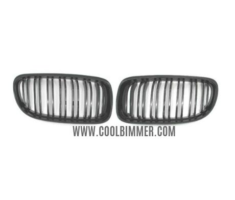 Grill BMW E90 E91 (09-11) LCI Glossy Black Double Slats