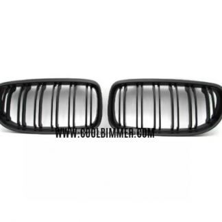 Grill BMW E90 E91 (09-11) LCI Matte Black Double Slats
