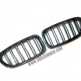 Grill BMW F10 Carbon Fiber Glossy Black Double Slats