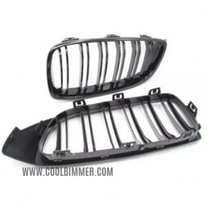 Grill BMW F32 Double Slats Glossy Black