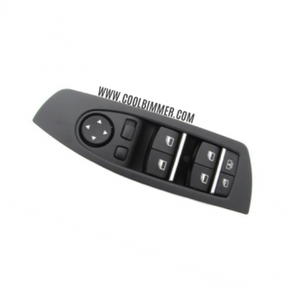 Black Electric Power Master Window Switch For BMW F01, F02