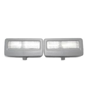 Grey LED Vanity Mirror Light For BMW F10, F11, F07, F01, F02, F03, F04 Pair